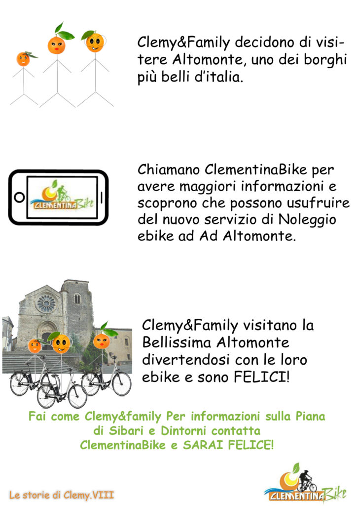 Clemy in Ebike ad altomonte
